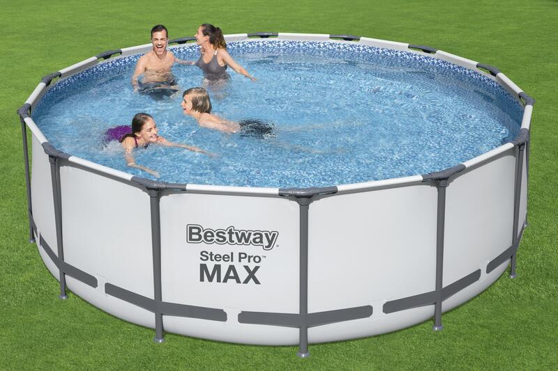 Bestway steel pro max Rundrohrbecken 4,27 x 1,22m