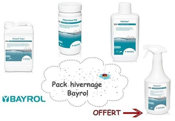 pack hivernage bayrol, traitement piscine, hivernage piscine