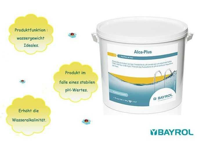 alca plus, bayrol, produkt im falle eines stabilen ph wertes