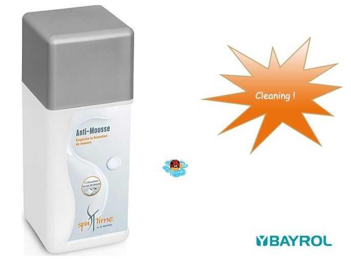 Spa Time Anti Foam 1l Bayrol Spa Products C Piscine
