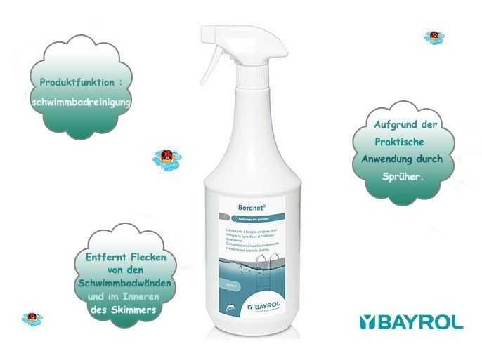 bayrol, bordnet spray, aufgrund der praktische anwendung durch spruher