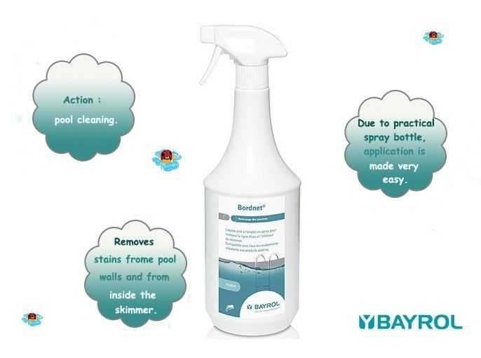 bordnet spray, bayrol, due to practical spray bottle application is made very easy