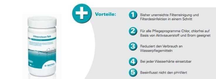filtercleantab, bayrol