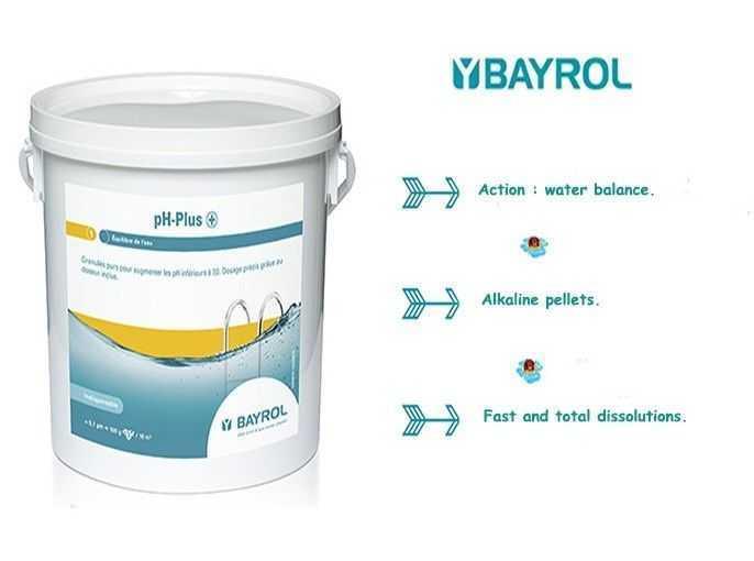 ph plus, bayrol, action water balance