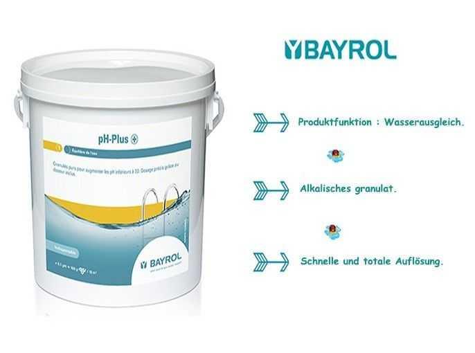 ph plus, bayrol, alkaline pellets