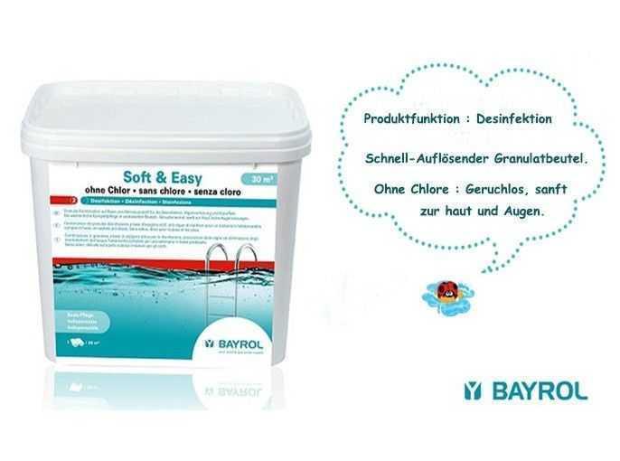bayrol, soft and easy, schnell auflosender granulatbeutel