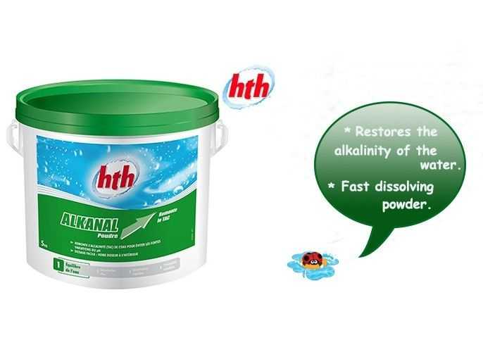 alkanal, hth, fast dissolving powder