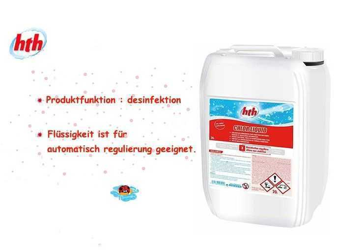 chlorliquid, hth, desinfektion