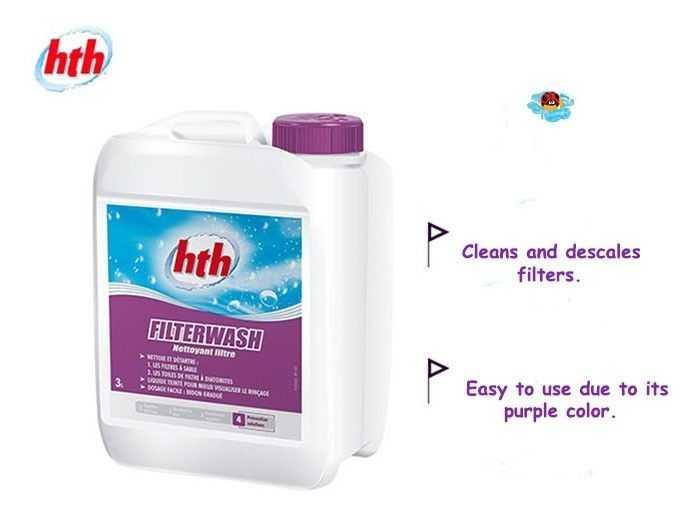 filterwash, hth, clean, filter