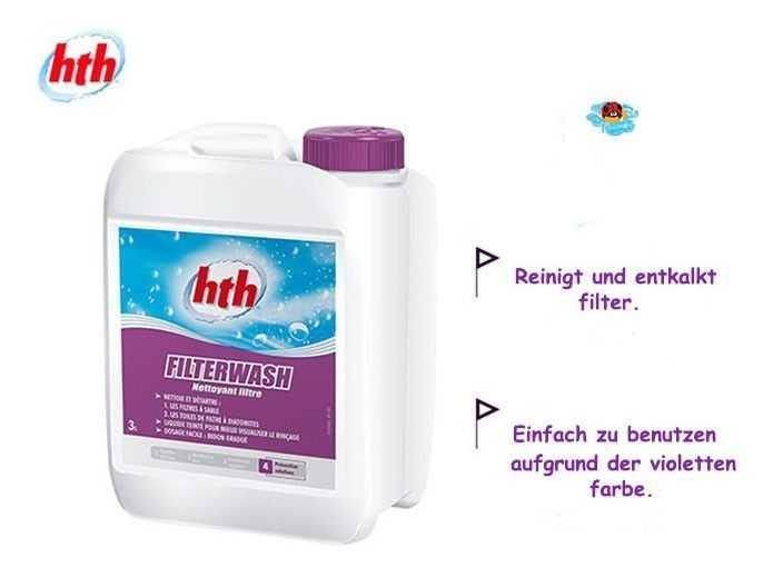 hth, filterwash