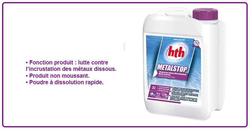 metal stop liquide HTH
