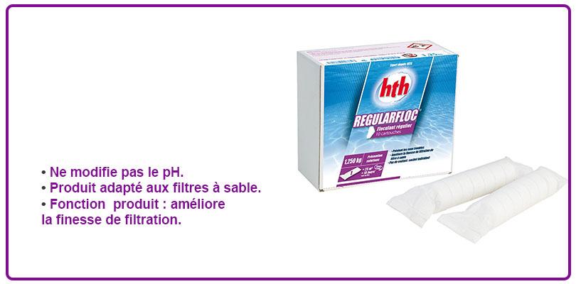 regularfloc hth, floculant cartouche hth