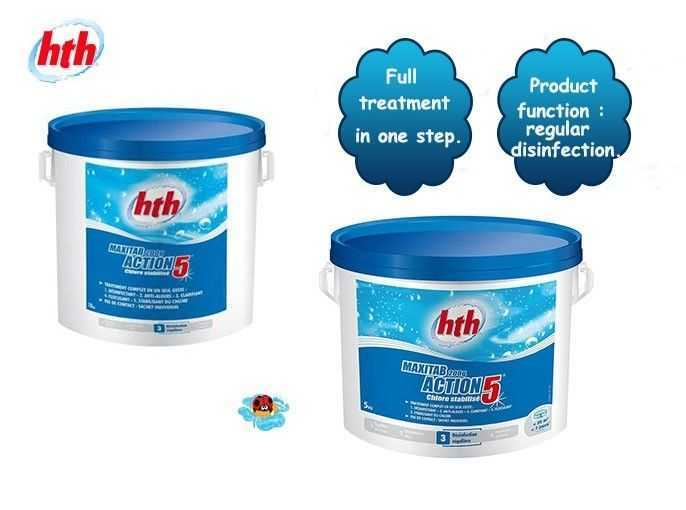 action 5 hth, full treatment in one step