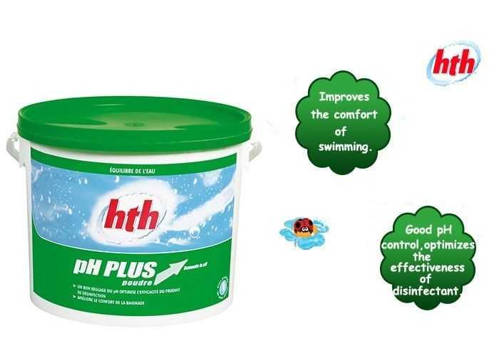 ph plus, hth, improve the comfort of swimming