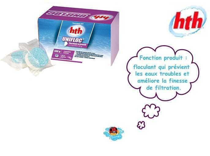 Floculant ou clarifiant cheap cliquez with floculant ou clarifiant great action cube floculant - Eau trouble spa ...