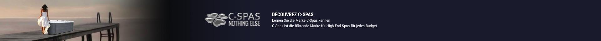 Lernen Sie die Marke C-Spas kennen