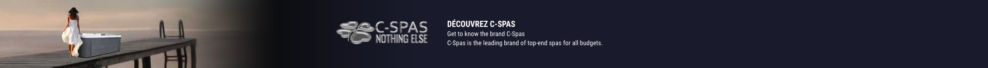 Get to know the brand C-Spas