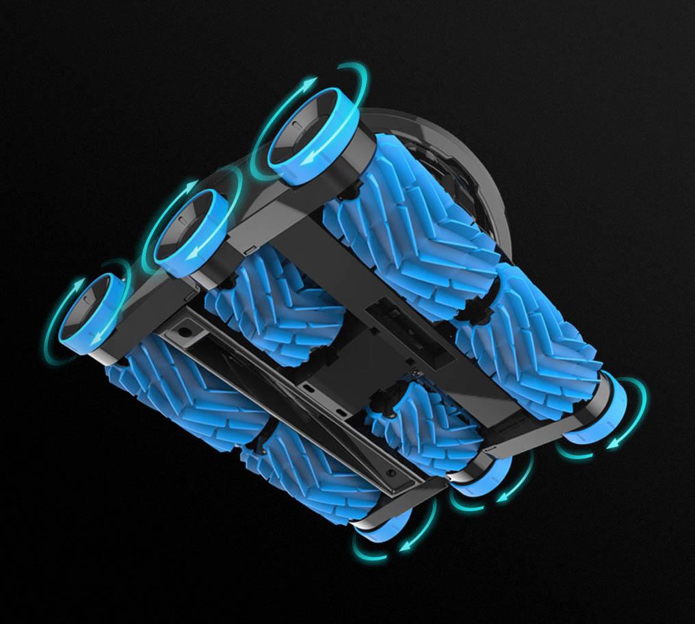système hexadrive hayward aquavac 600