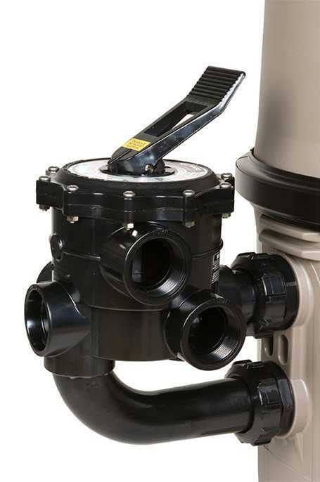vanne pour filtre à diatomée hayward pro grid
