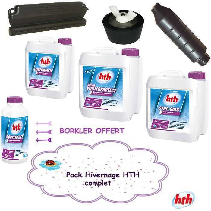 Pack hivernage complet hth mat riel produits hth hth for Produit d hivernage piscine