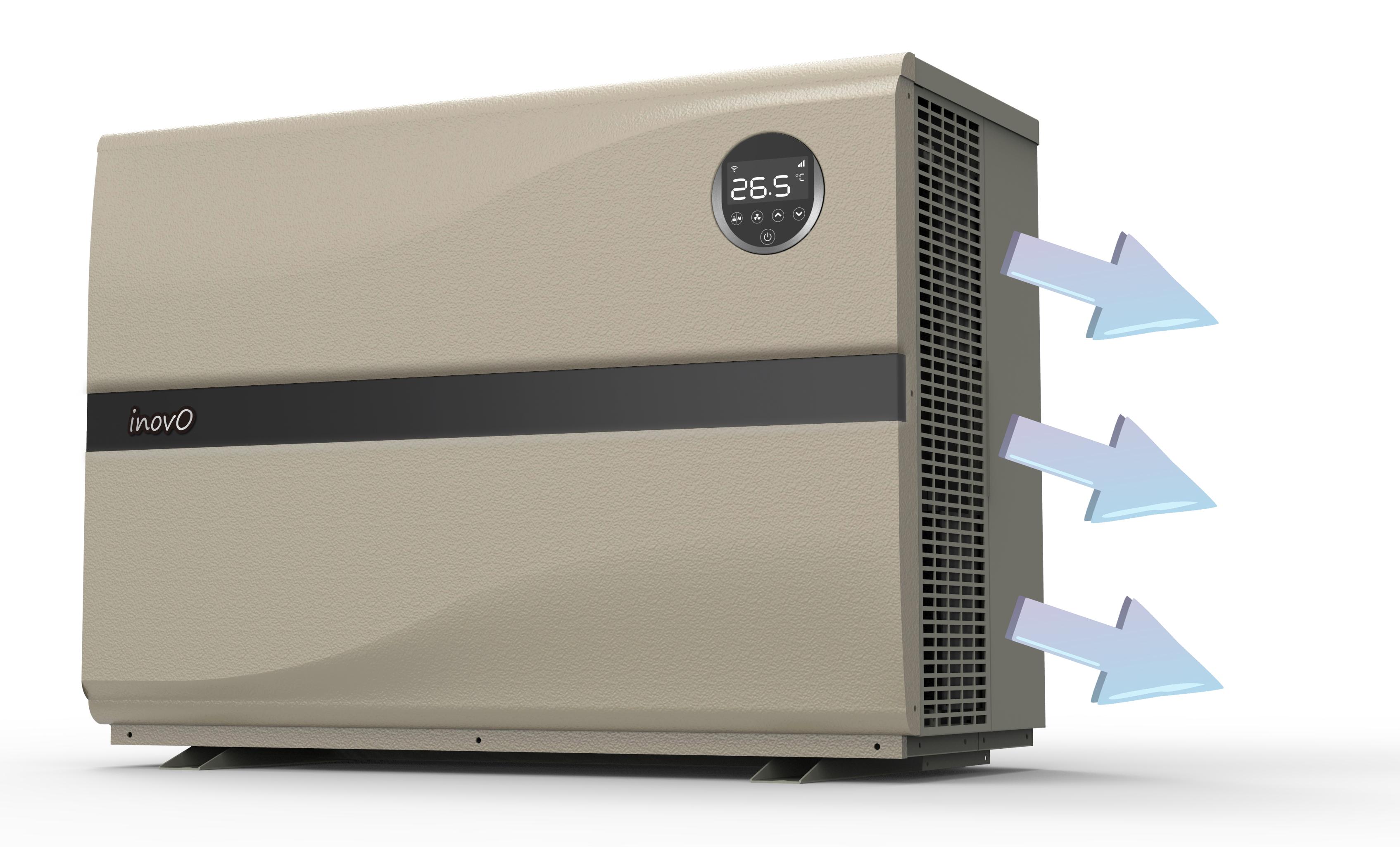 pompe à chaleur inverter avec ventilateur lateral