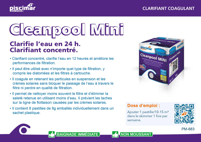 clean pool mini piscimar cpiscine