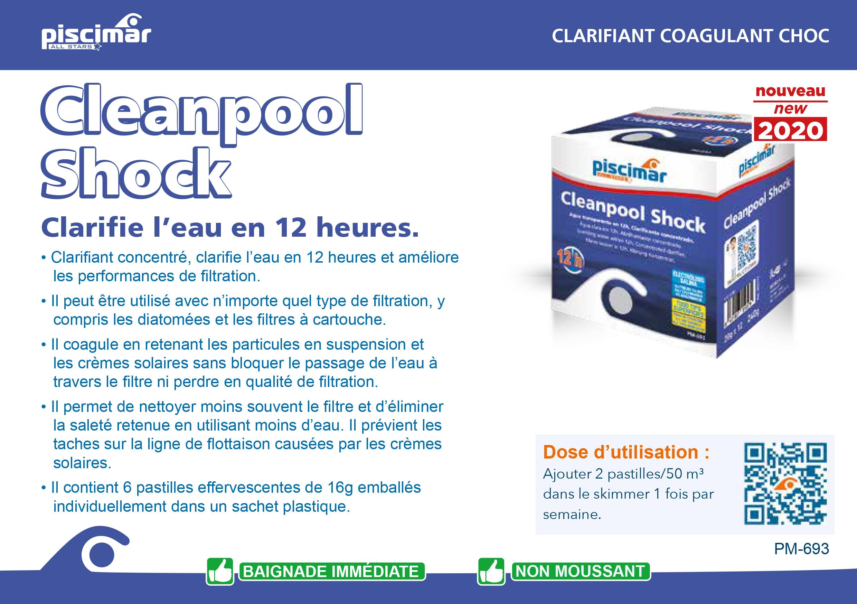 cleanpool shock piscimar cpiscine