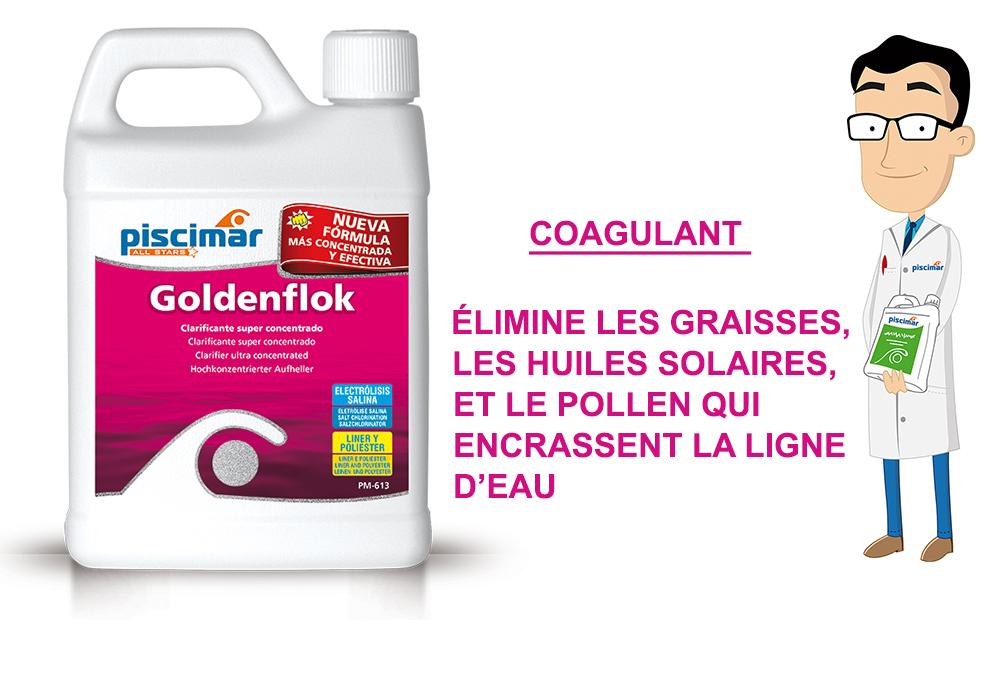 goldenflok,piscimar, élimine les résidus gras