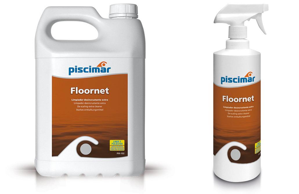 floornet piscimar, nettoyant ligne d'eau, nettoyant acier inoxydable