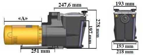dimensions pompe super pump