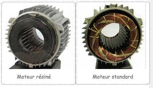 pompe mjb à moteur résiné