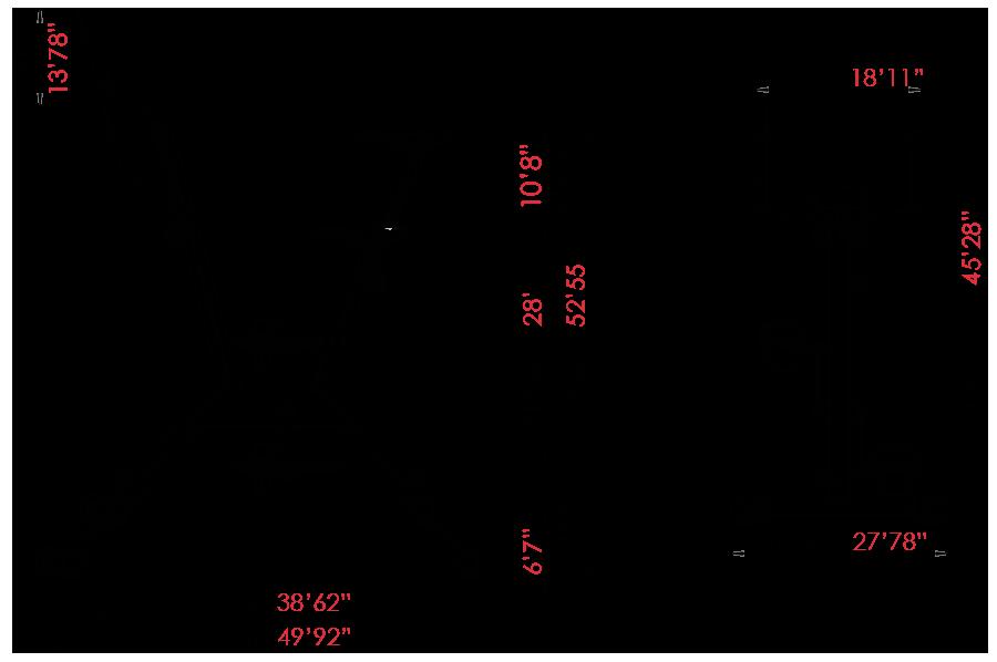 dimensions aquabike tenerife
