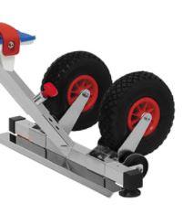 roues de l'aquabike ibiza