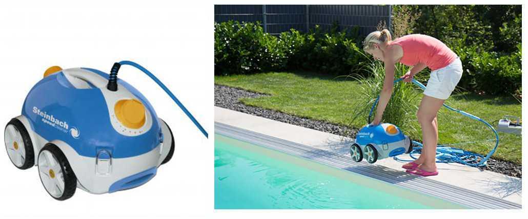 robot poolrunner nettoyage du fond de la piscine