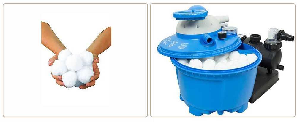 balles filtrantes pour filtre à sable