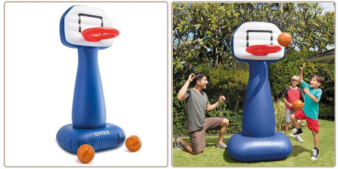jeu de basket gonflable intex