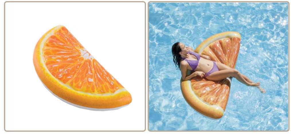 matelas orange intex