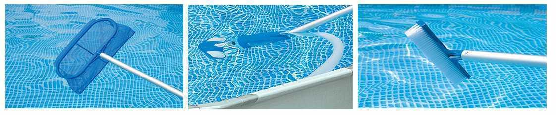 kit d 39 entretien complet pour piscine hors sol. Black Bedroom Furniture Sets. Home Design Ideas
