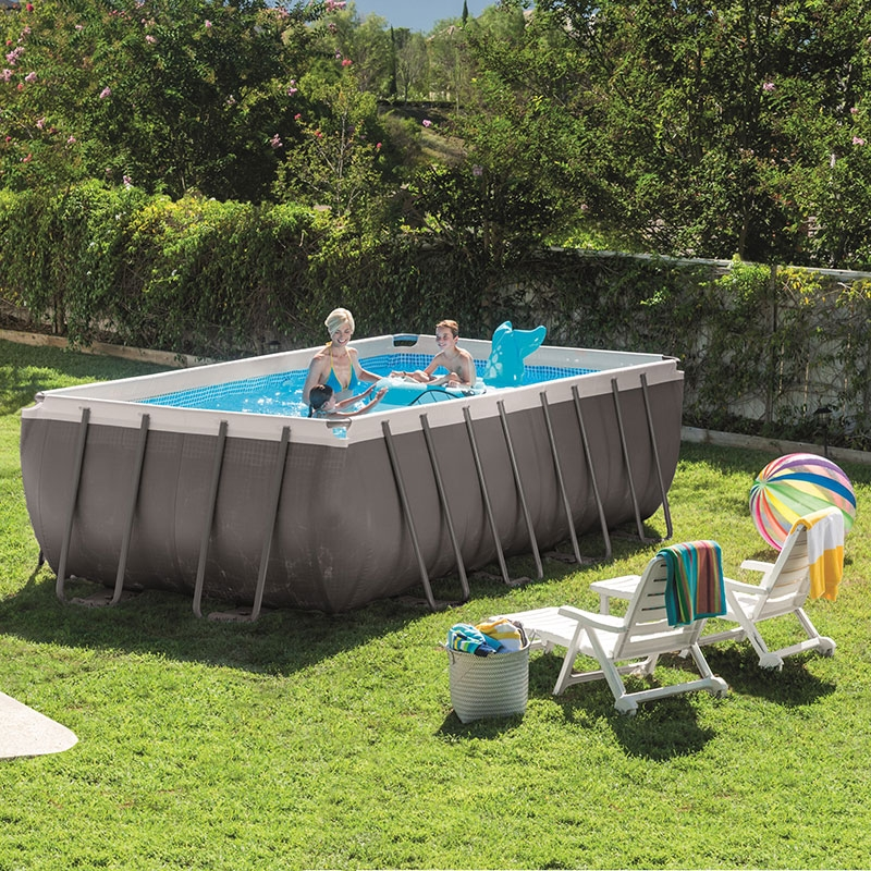 Piscine intex ultra silver 5 49 x 2 74 x 1 32m c piscine for Piscine hors sol intex 5 49
