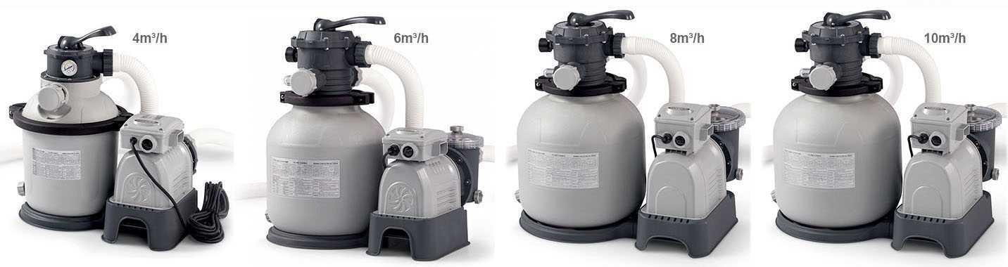 platine de filtration intex avec système hydro aération