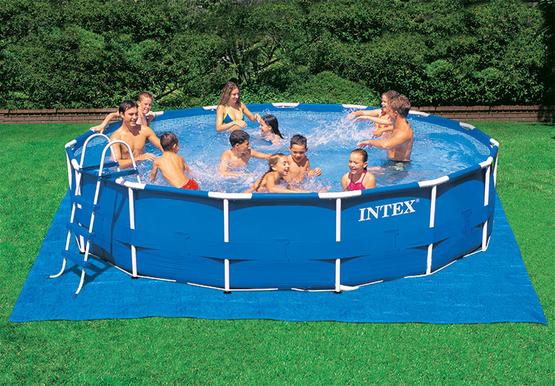 tapis de sol intex pour piscine hors sol