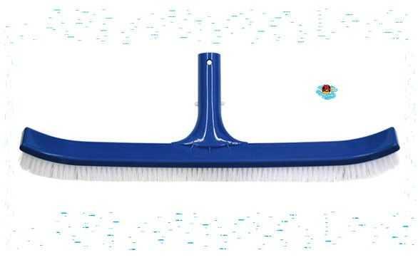 brosse de paroi, courbe, nettoyage piscine