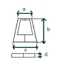 dimensions cache pour cascade bali