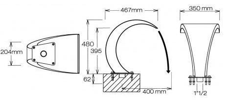 dimensions cascade bali mini