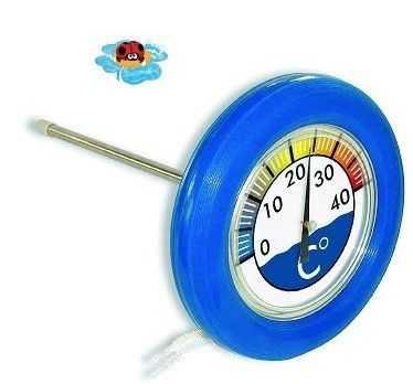 thermomètre flottant
