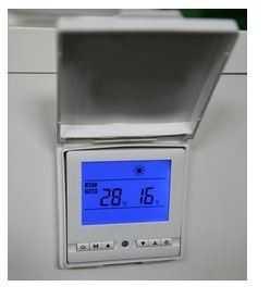 écran digital, écran de contrôle pompe à chaleur Waterpower