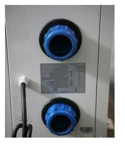 connexion tuyaux, connexion diamètre 50, connexion côté, connexion pompe à chaleur waterpower