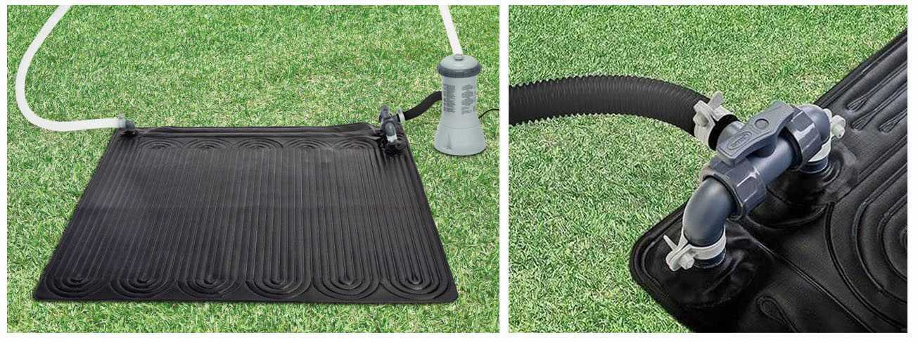 Intex solar heating mat intex solar heating for Chauffage pour piscine hors sol