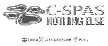 spa atlantis de la marque c-spas