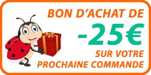 Bon achat de 25€ robot dolphin e20